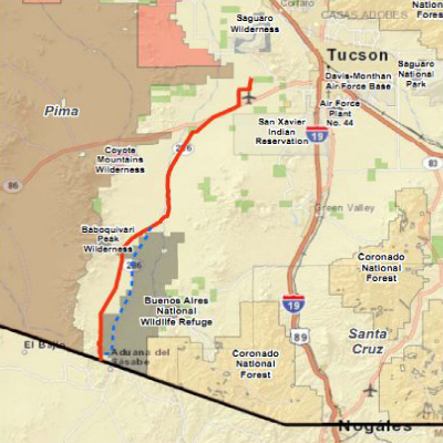 Natural Gas Pipeline Map Arizona