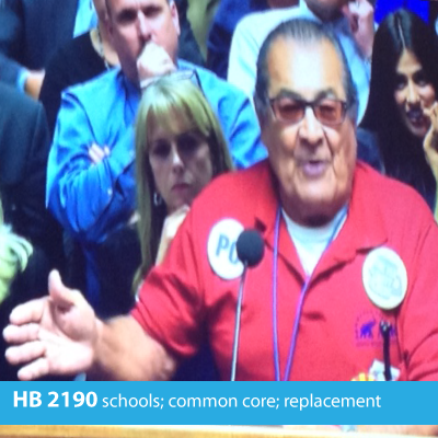 Maricopa County residents urges House panel members to vote in favor of HB 2190.