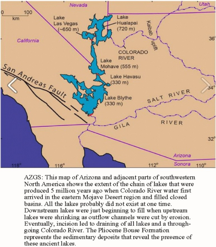 Origin Of The Grand Canyon And Lower Colorado River