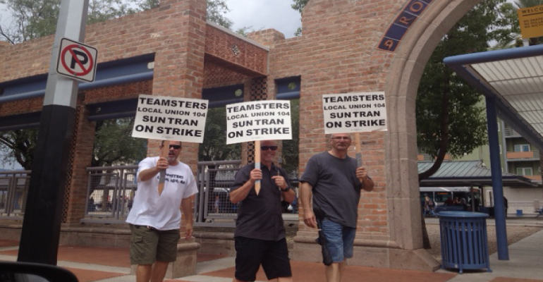 Sun Tran, Transit Workers Work Stoppage Continues – Arizona Daily