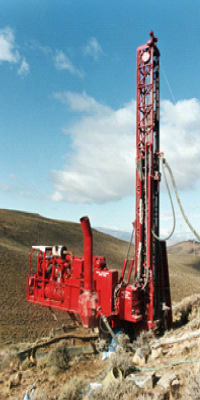 Figure 6: Track-Mounted Rotary Drill Rig