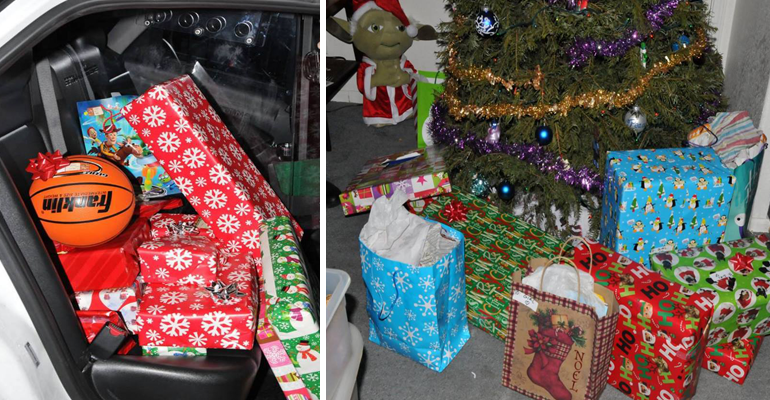 chandler police officers saved christmas - Police Officer Christmas Decorations
