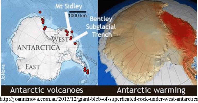 volcano in west antarctica