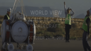 World View test launch in Page, Arizona