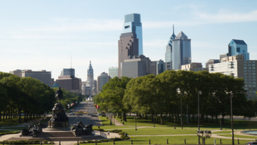 The Arizona Democratic delegation will travel to Philadelphia for the party's national convention. This is a view of the city's skyline from the Philadelphia Museum of Art. (Photo by Rob Shenk via Creative Commons)