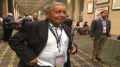 Edward Manuel, Arizona resident and chairman of the Tohono O'odham Nation, attended the Native American Council caucus at the Democratic National Convention in Philadelphia. (Photo by Kelsey DeGideo/Cronkite News)