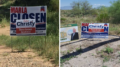 Christy's paid staff allegedly placed his signs in front of Closen's to obscure them from view