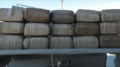 A total of 15 bundles of marijuana were seized from within a camper trailer being towed by another vehicle