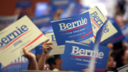 Bernie Sanders supporters at a rally at the Phoenix Convention Center in Phoenix, Arizona. (Photo by Gage Skidmore via Creative Commons)