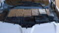 Officers at the Port of Douglas located packages of marijuana when they raised the hood of a smuggling vehicle