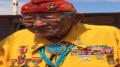 Navajo Code Talker Sergeant Major Dan Akee