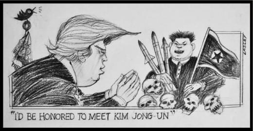 Lasley On : Trump Meets Kimmy