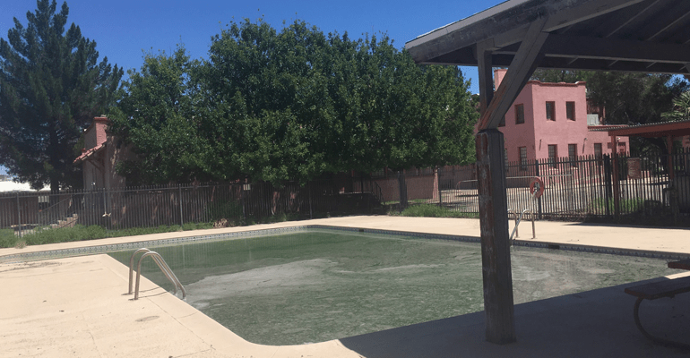 Green Pool Is Symbol Of South Tucsons Decay Arizona Daily Independent