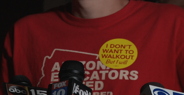 Red For Ed: Teachers To Walk Out Over Low Pay, Classroom Spending ...