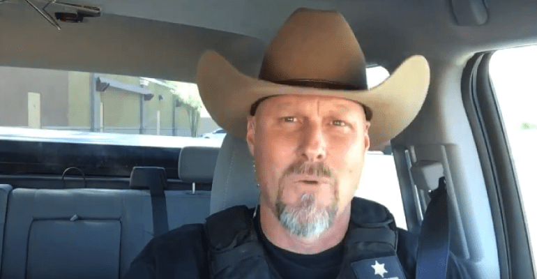 b16443eb8a8 Pinal Sheriff To Raffle Off Cowboy Hat Featured In Lip Sync Challenge