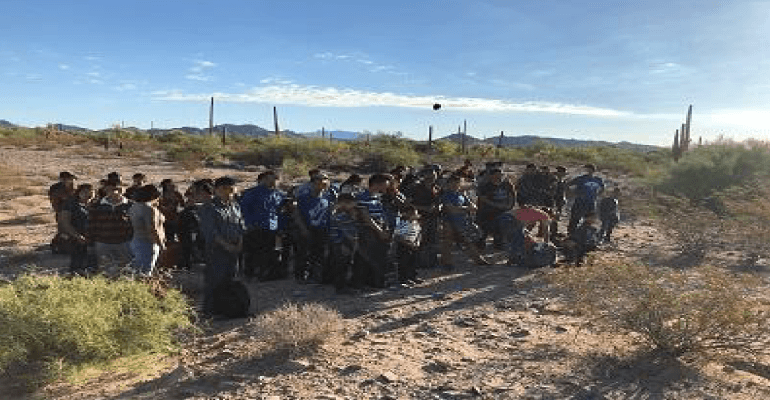 264 illegal aliens apprehended in southern arizona in 24 hours