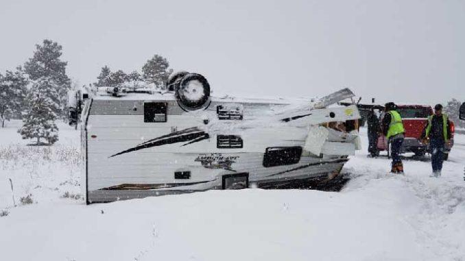 Winter weather, crashes force closure of six Northern Arizona