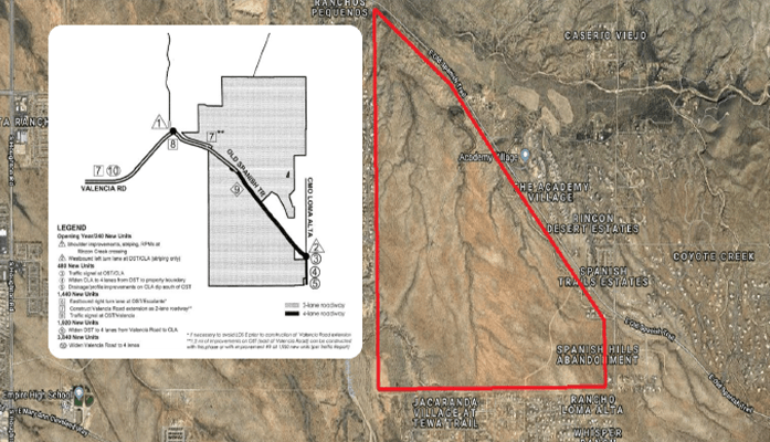map rocking k pima county