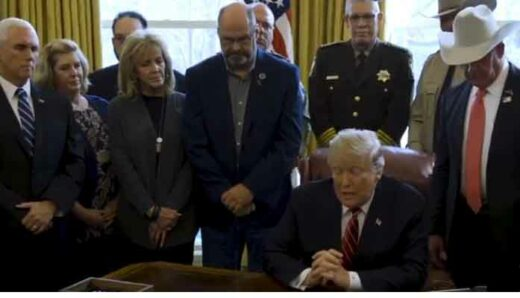 Arizona sheriff, 'Angel Parents' attend veto of resolution blocking border emergency