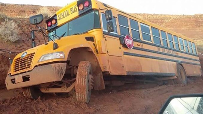 Navajo Nation school bus