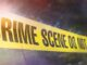 crime scene notice