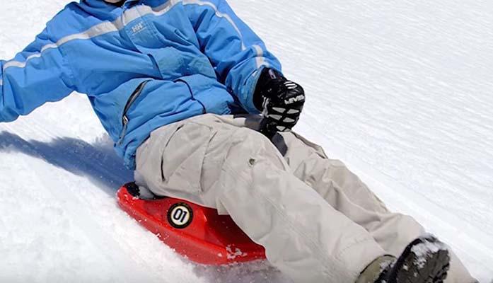 sled plastic