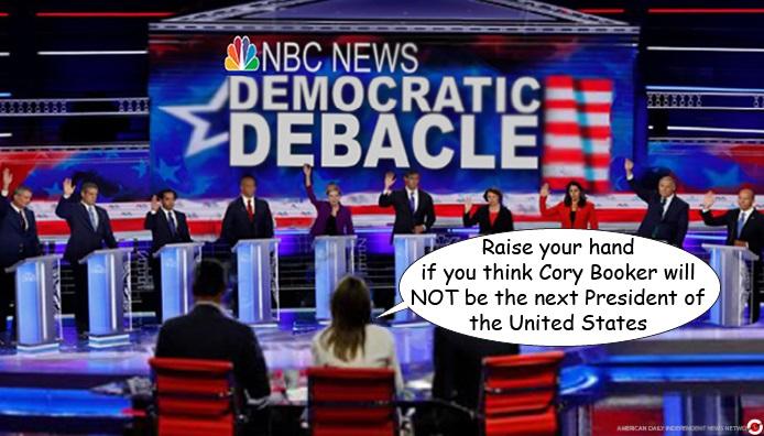 corey booker for president