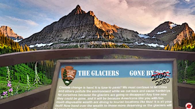 glacier park comic