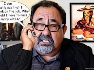 Raul Grijalva comic