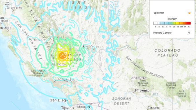Arizonans Report Feeling California 7.1 Magnitude Earthquake ...
