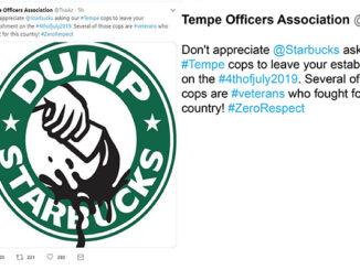 tempe police starbucks