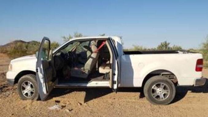 human smuggling truck
