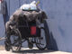 wheelchair, homeless