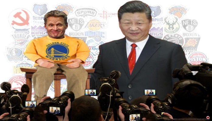 steve kerr china press conference