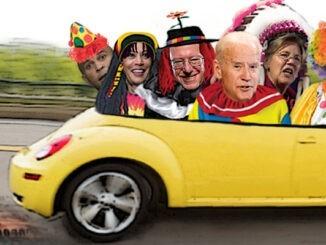 democratic party clown car