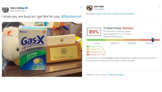 Gallego's Gassy Swalwell Tweet Raises Troll Alarm