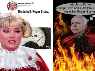 meghan mccain roger stone comic