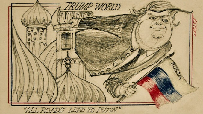 trump world comic