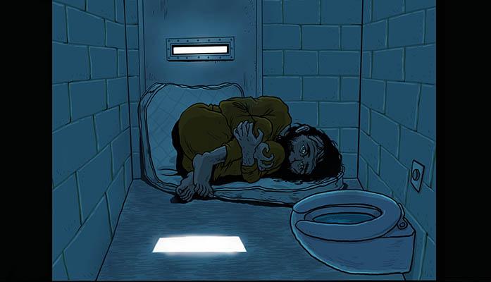 alone in prison