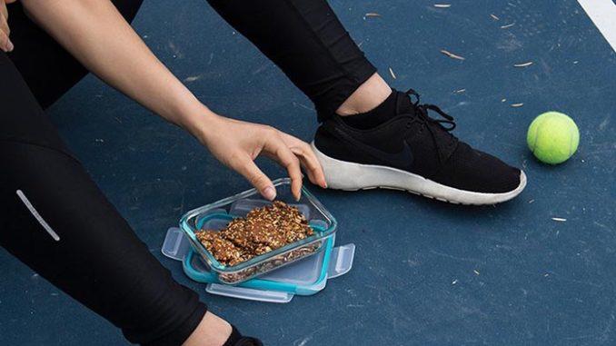 athlete snack