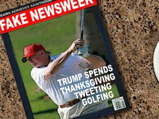 trump newsweek comic