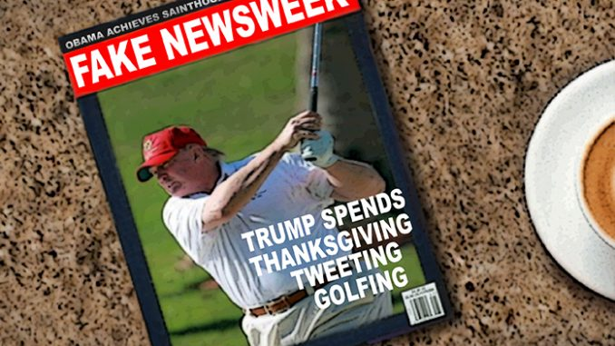 trump newsweek comic