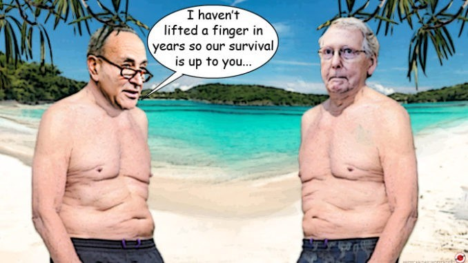 chuck schumer mitch mcconnell comic