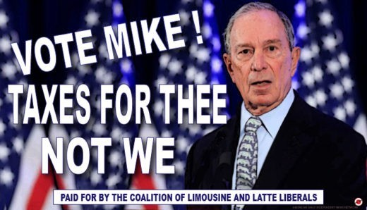 michael bloomberg comic