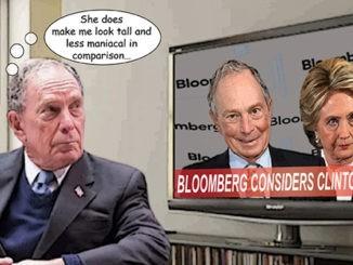mike bloomberg comic