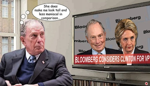 mike bloomberg comic