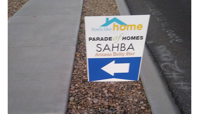 SAHBA sign