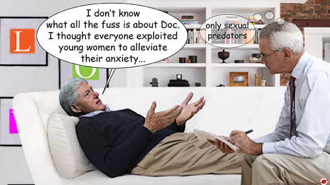 bill clinton comic