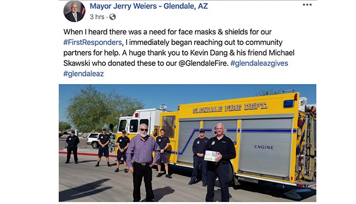 Glendale Arizona Perfect Example Of What Happens When Union Leadership Attacks Firefighters Best Interests Arizona Daily Independent