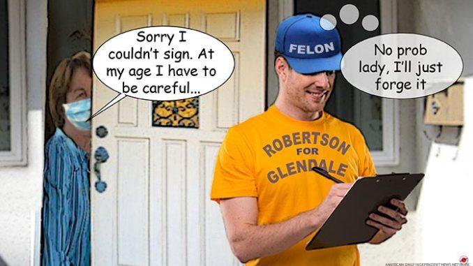 robertson comic